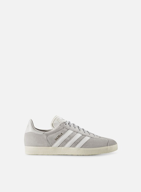 sneakers adidas originals gazelle clear onix white gold metallic