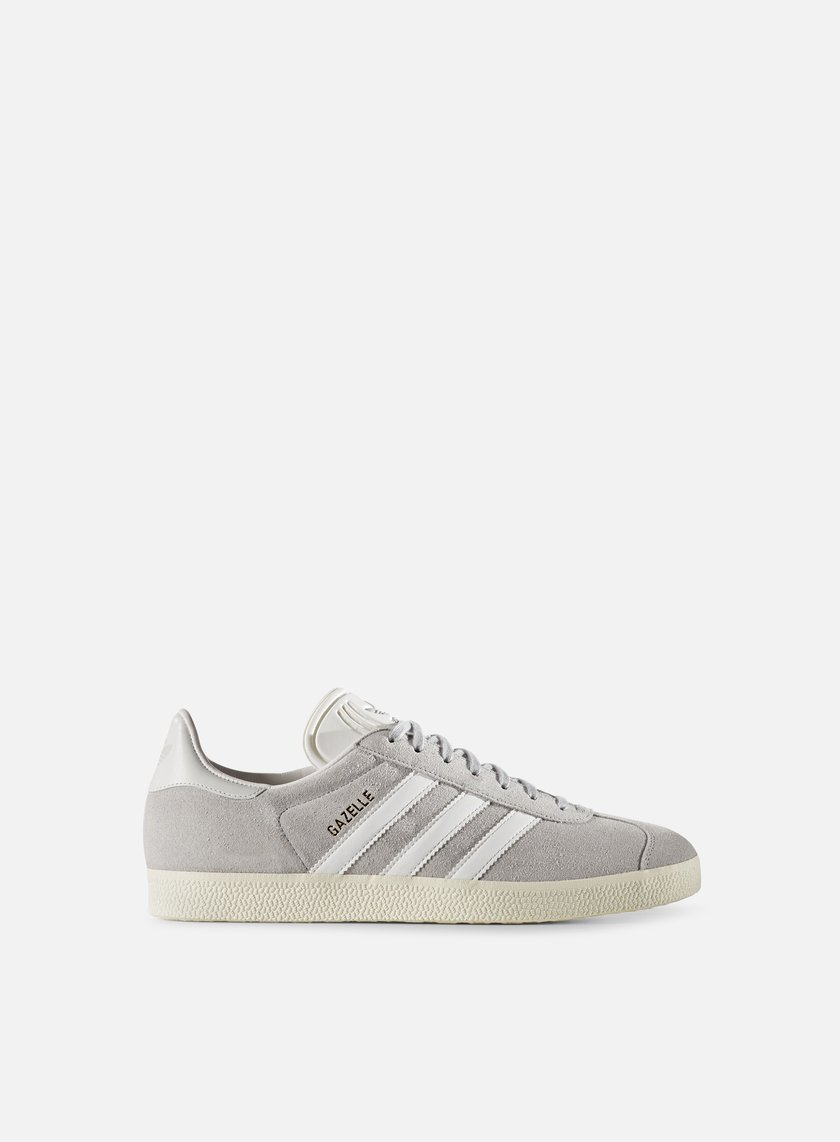 Adidas Originals - Gazelle, Clear Onix/White/Gold Metallic