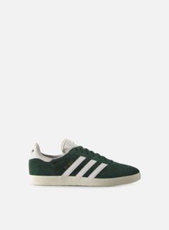 Adidas Originals - Gazelle, Collegiate Green/Vintage White/Gold Metallic 1