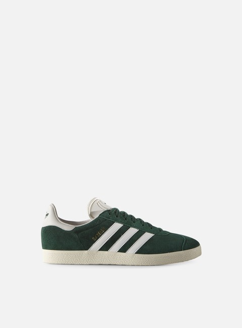 sneakers adidas originals gazelle collegiate green vintage white gold metallic