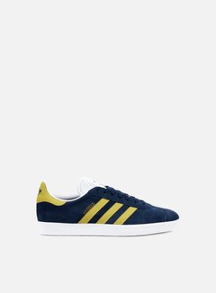Adidas Originals - Gazelle, Collegiate Navy/Gold Metallic/White
