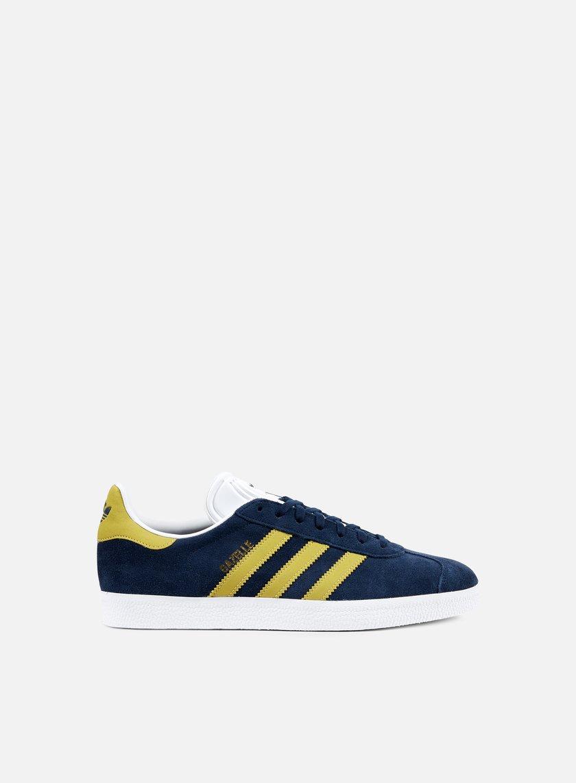 Adidas Originals - Gazelle, Collegiate Navy/Gold Metallic/White