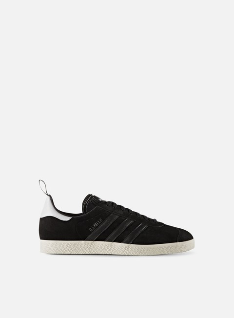 sneakers adidas originals gazelle core black core black gold metallic