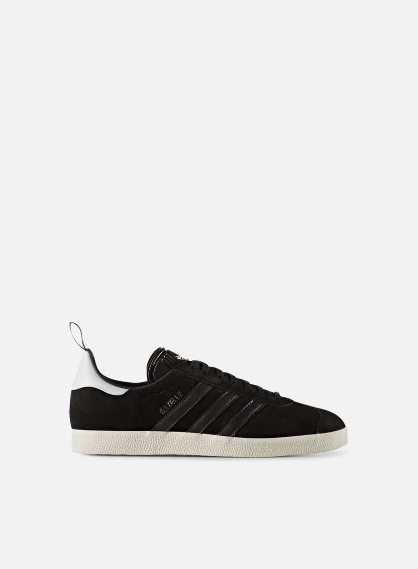 Adidas Originals - Gazelle, Core Black/Core Black/Gold Metallic