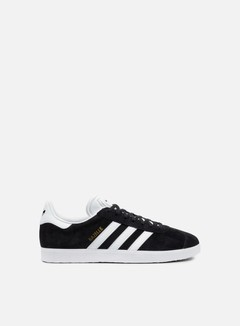Adidas Originals - Gazelle, Core Black/White/Gold Metallic