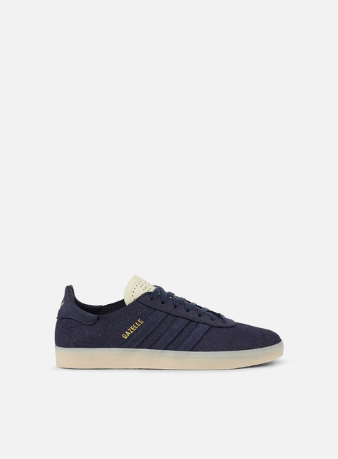 sneakers adidas originals gazelle crafted black white metallic gold