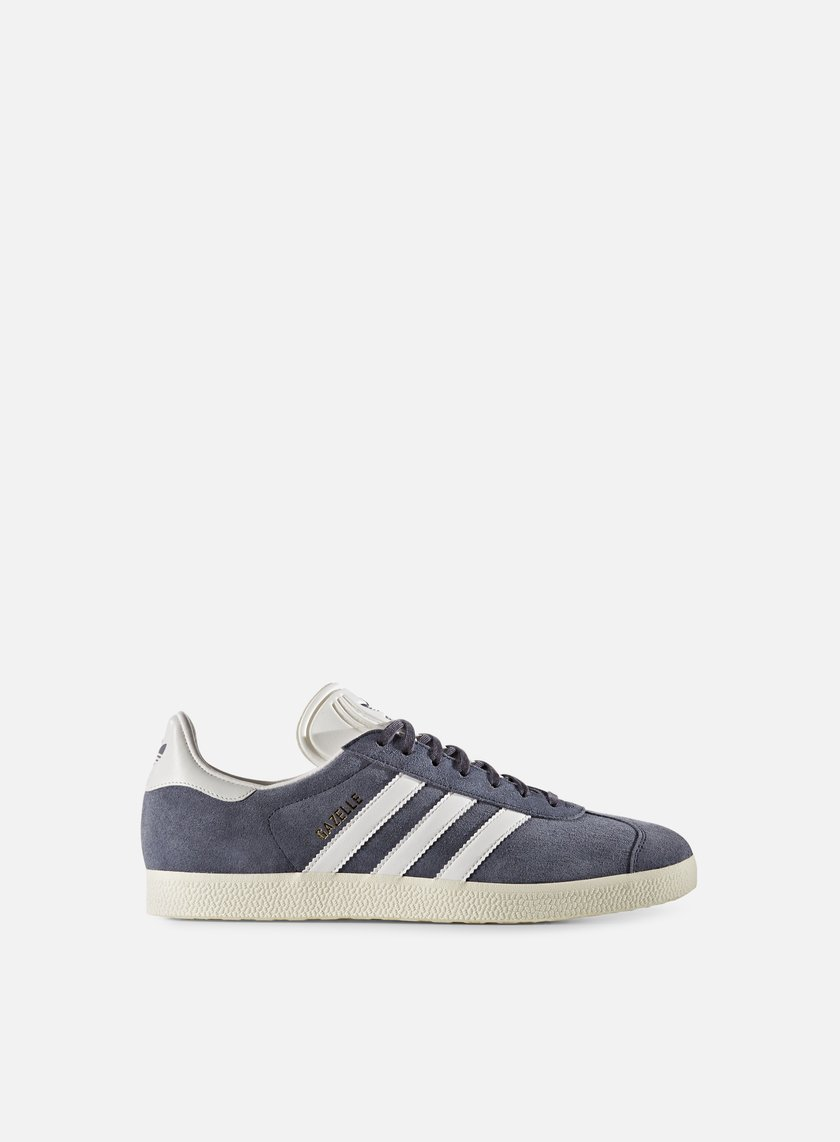 Adidas Originals - Gazelle, Nemesis/Vintage White/Gold Metallic
