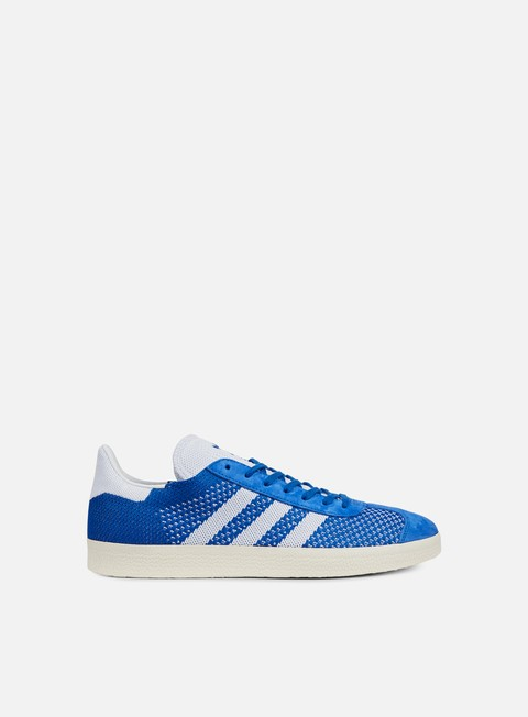 sneakers adidas originals gazelle primeknit blue white crystal white