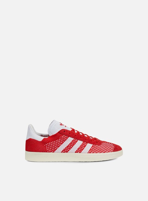 sneakers adidas originals gazelle primeknit scarelt white crystal white