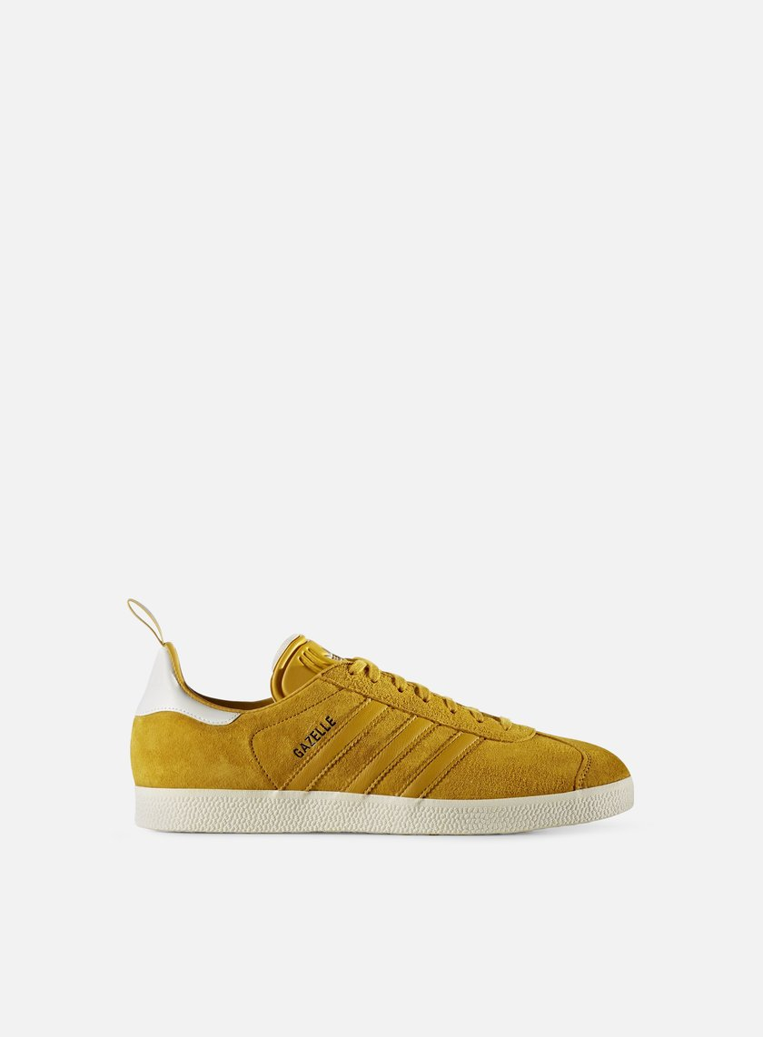 Adidas Originals - Gazelle, St Nomad Yellow/St Nomad Yellow/Gold Metallic