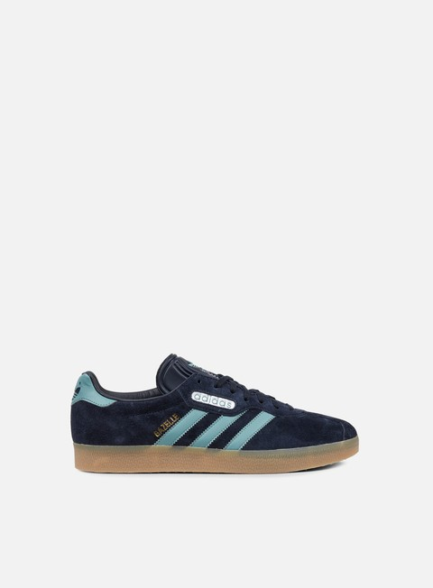 sneakers adidas originals gazelle super night navy vapour steel gold metallic