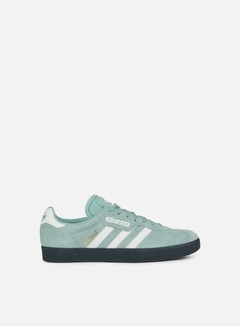 Adidas Originals - Gazelle Super, Tactile Green/Off White/Carbon