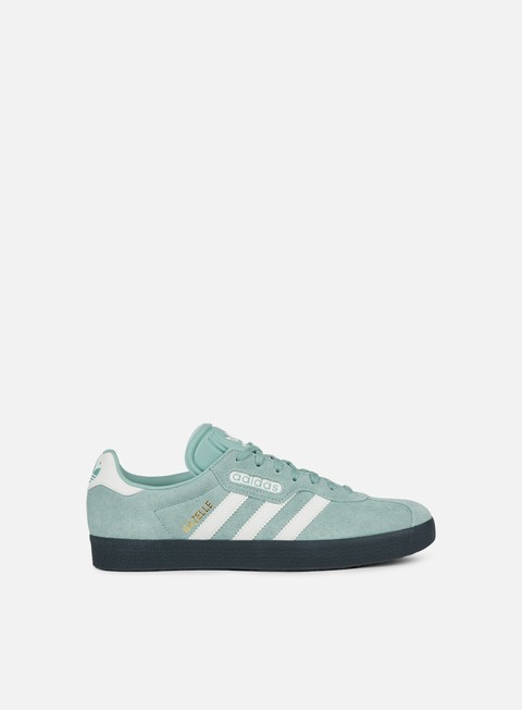 sneakers adidas originals gazelle super tactile green off white carbon