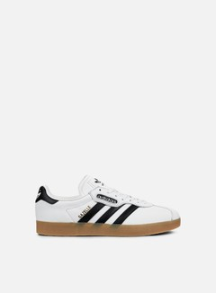 Adidas Originals - Gazelle Super, Vintage White/Core Black/Gum