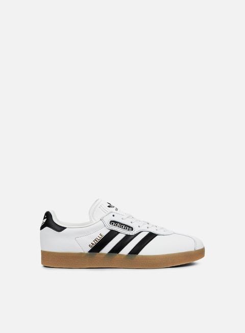 sneakers adidas originals gazelle super vintage white core black gum