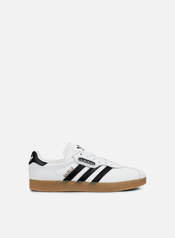 Adidas Originals - Gazelle Super, Vintage White/Core Black/Gum