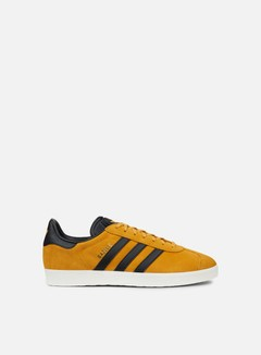Adidas Originals - Gazelle, Tactile Yellow/Core Black/Gold Metallic
