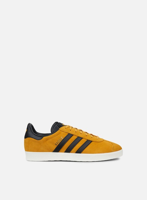sneakers adidas originals gazelle tactile yellow core black gold metallic