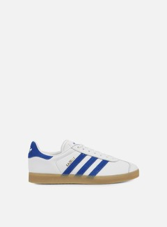Adidas Originals - Gazelle, Vintage White/Bold Blue/Gum