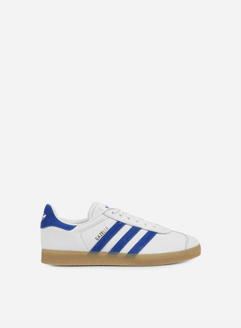 GAZELLE - Sneaker low - white/blue 7L1fim