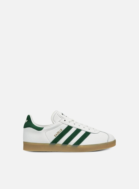 sneakers adidas originals gazelle vintage white collegiate green gum
