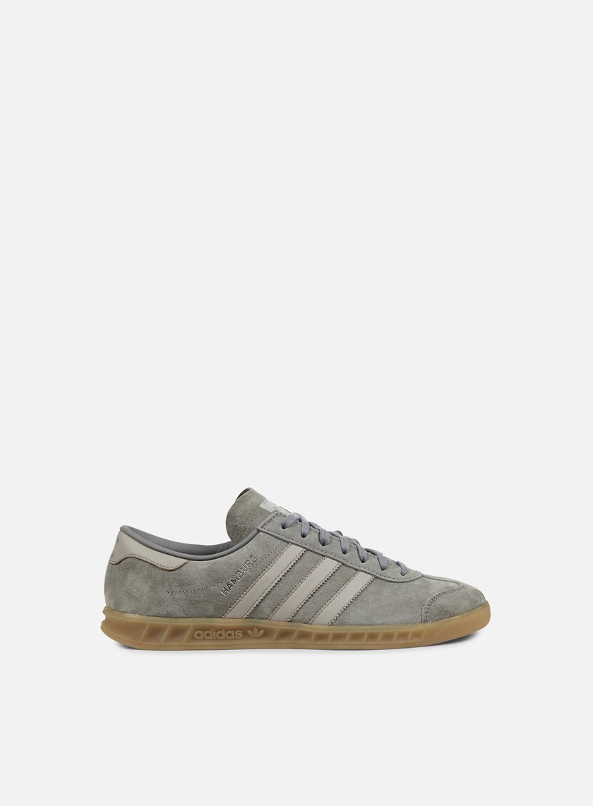 ... Adidas Originals - Hamburg, Clear Granite/Clear Grey/Gum 1 ...