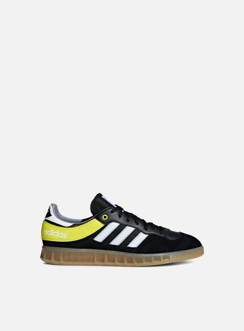 sneakers adidas originals handball top core black ftwr white shock yellow