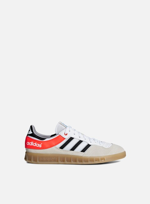 sneakers adidas originals handball top ftwr white core black solar red