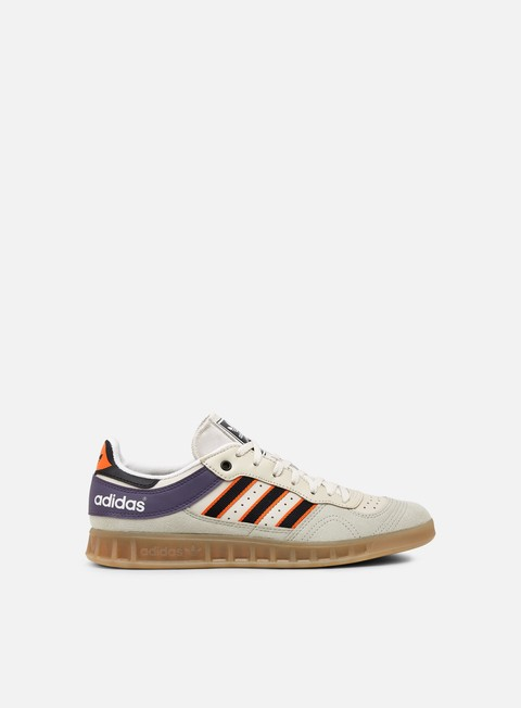 sneakers adidas originals handball top sesame core black orange