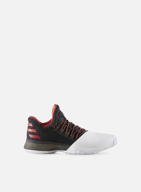 sneakers adidas originals harden vol 1 core black scarlet white