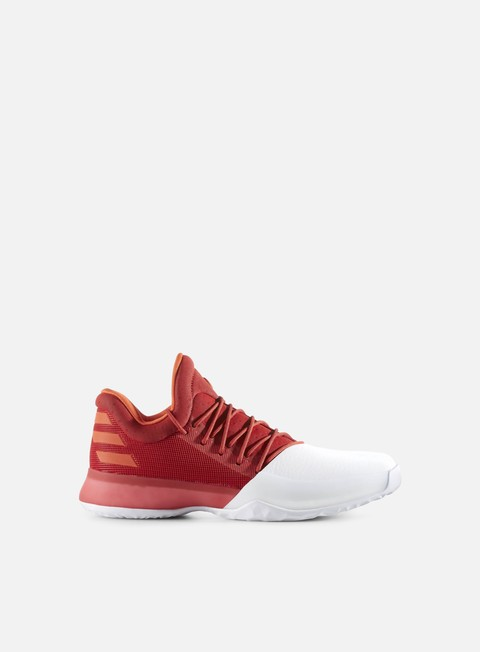 sneakers adidas originals harden vol 1 scarlet white energy