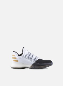 Adidas Originals - Harden Vol. 1, White/Core Black/Gold Metallic 1