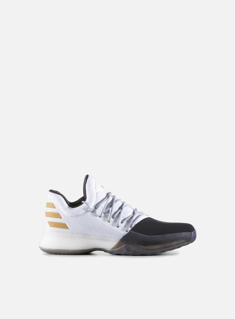 sneakers adidas originals harden vol 1 white core black gold metallic