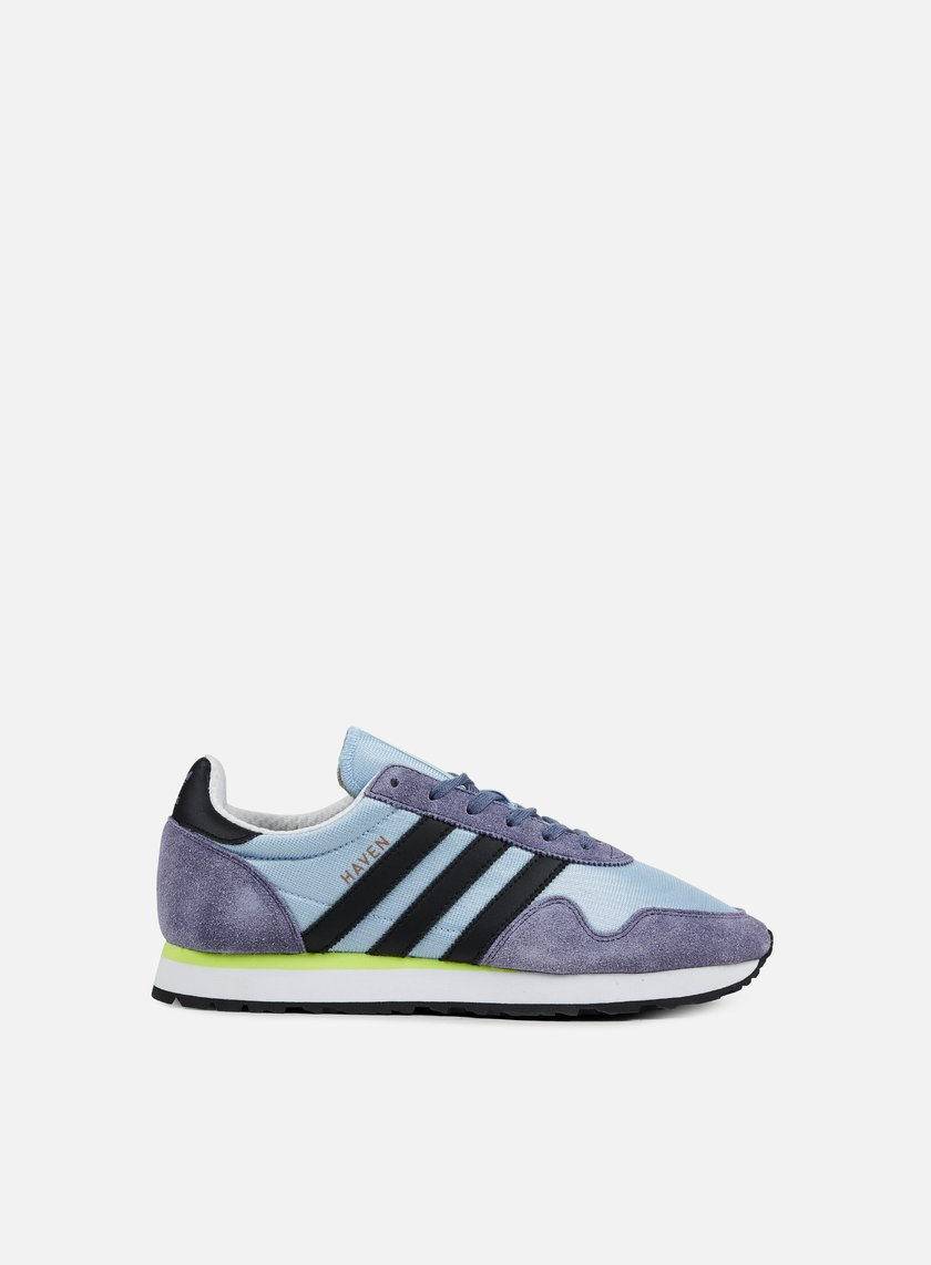 Adidas Originals - Haven, Easy Blue/Core Black/Solar Yellow