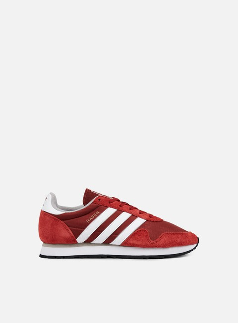 sneakers adidas originals haven mystery red white clear granite