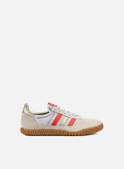 sneakers adidas originals indoor super clear brown core red cyber metallic