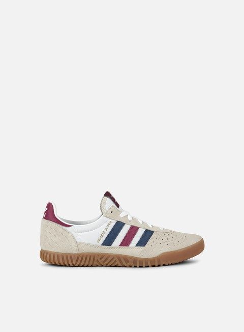 Neu adidas Indoor Super Clear BrownNoble IndigoMystery Ruby