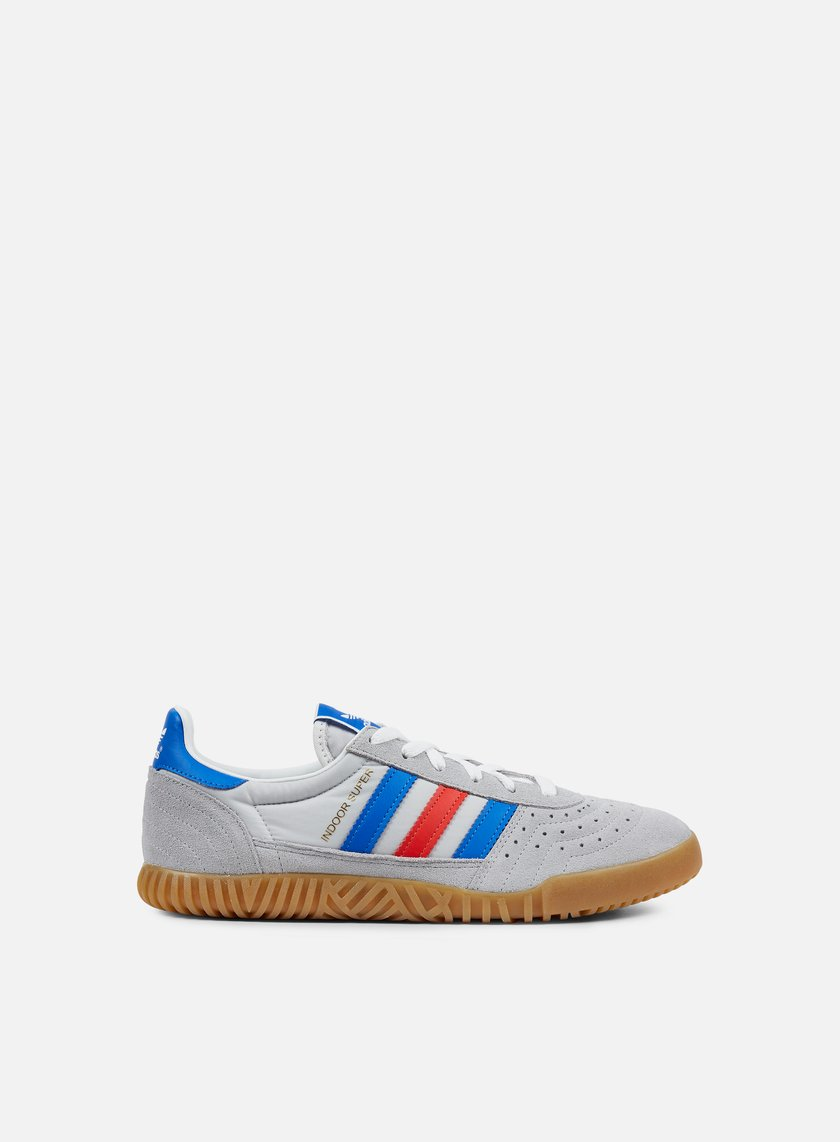 ADIDASIndoor Super Clear ONIX/Blue/Red Scarpe Sneaker by9770