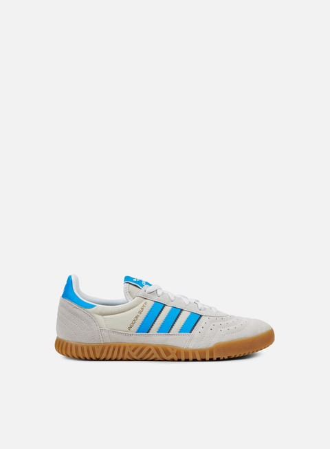sneakers adidas originals indoor super vintage white bright blue collegiate navy