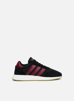 Adidas Originals - Iniki I-5923, Core Black/Collegiate Burgundy/Cloud White