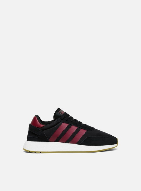 sneakers adidas originals iniki i 5923 core black collegiate burgundy cloud white