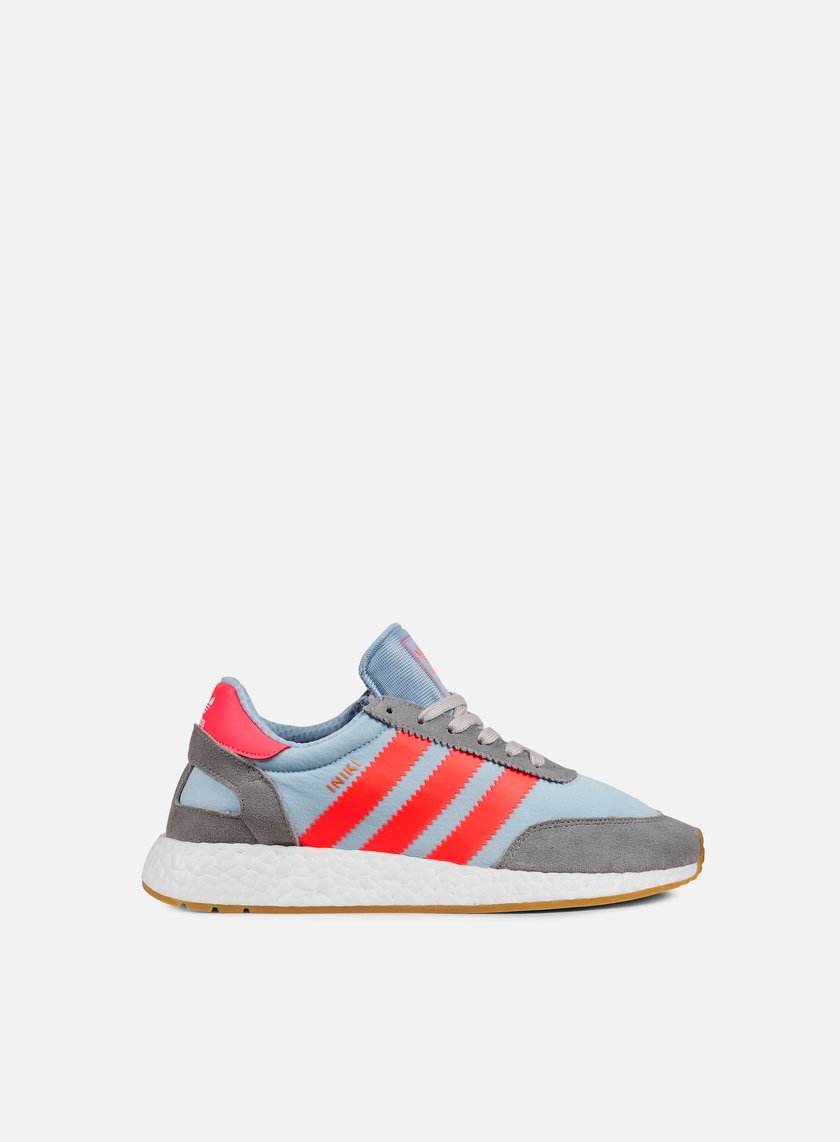 Adidas Originals - Iniki Runner, Chalk Solid Grey/Turbo/Gum