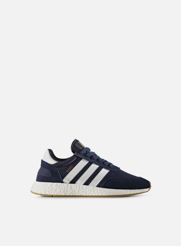 Adidas Originals - Iniki Runner, Collegiate Navy/White/Gum