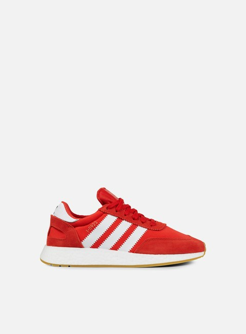 sneakers adidas originals iniki runner red white gum