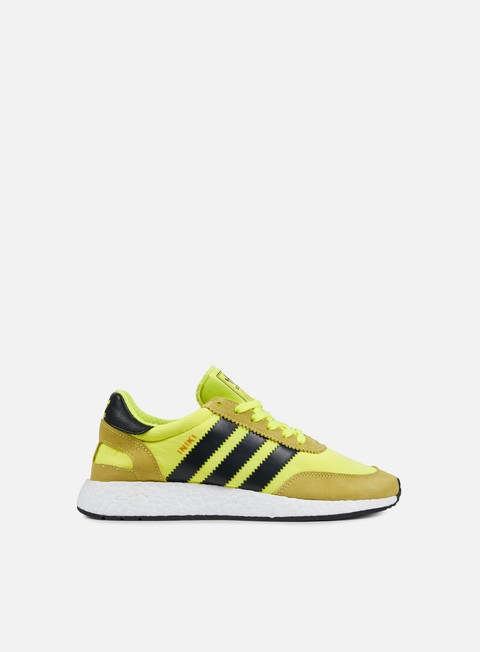 sneakers adidas originals iniki runner solar yellow core black white