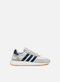 Adidas Originals - Iniki Runner, White/Collegiate Navy/Gum 1