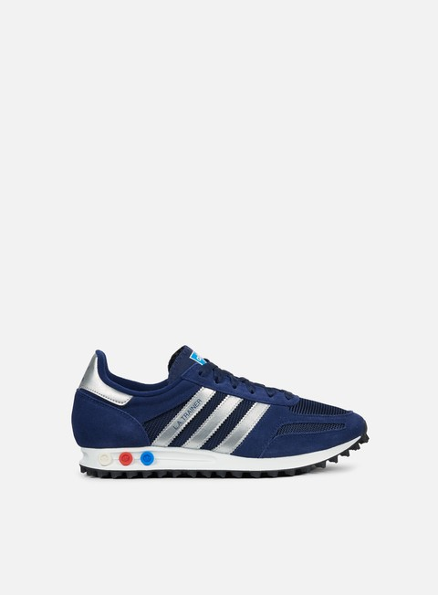sneakers adidas originals la trainer dark blue metallic silver dark grey heather