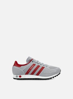 Adidas Originals - LA Trainer EM, Clear Onix/Power Red/White 1