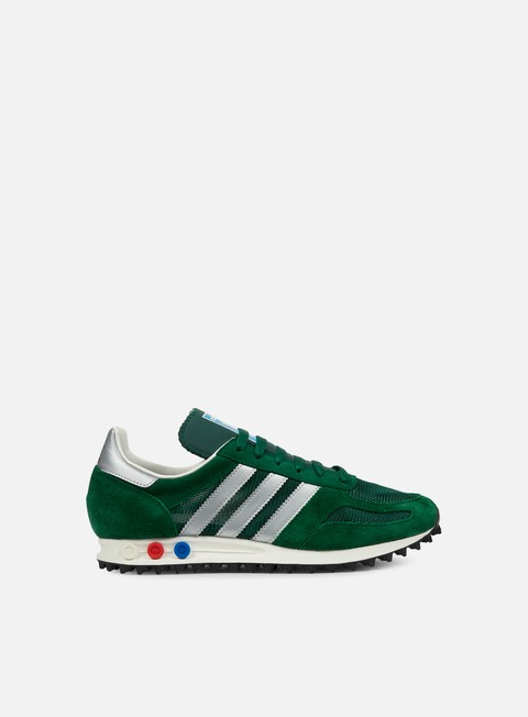 sneakers adidas originals la trainer og collegiate green metallic silver