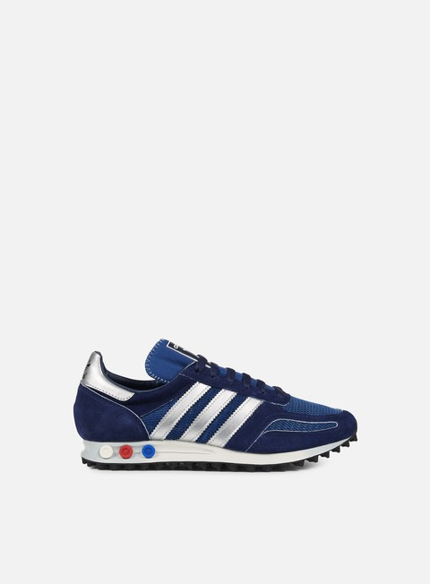 sneakers adidas originals la trainer og dark marine silver metallic dark blue